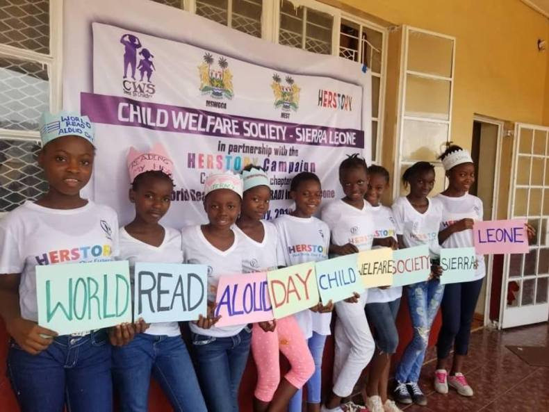 World Read Aloud Day 2019 in Sierra Leone