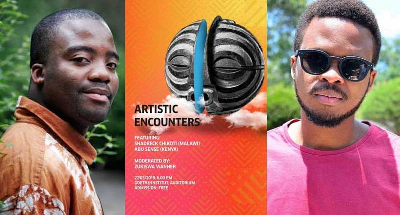 Shadreck Chikoti, Abu Sense kick off Artistic Encounters