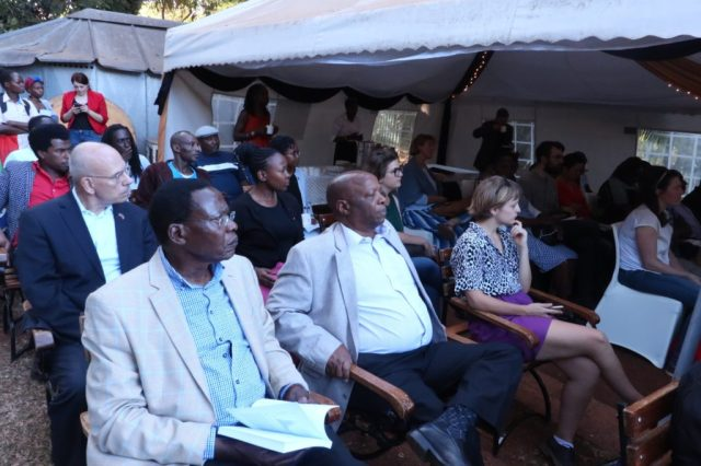 Audience at Chege Githiora book launch