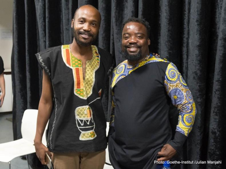 Donald Molosi and Shadreck Chikoti