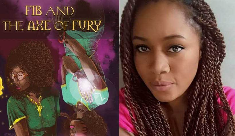 "Zuma Publishing reveals Esosa Kolawole's ""Fib and the Axe of Fury"" cover."