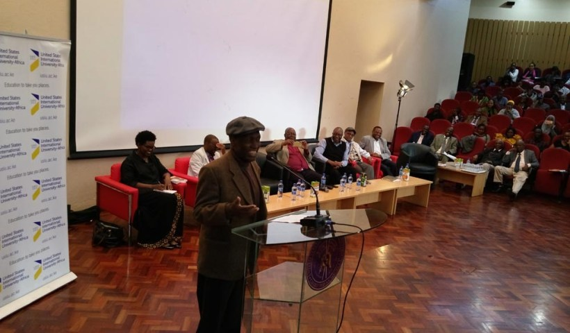 Ngugi wa Thiongo at USIU