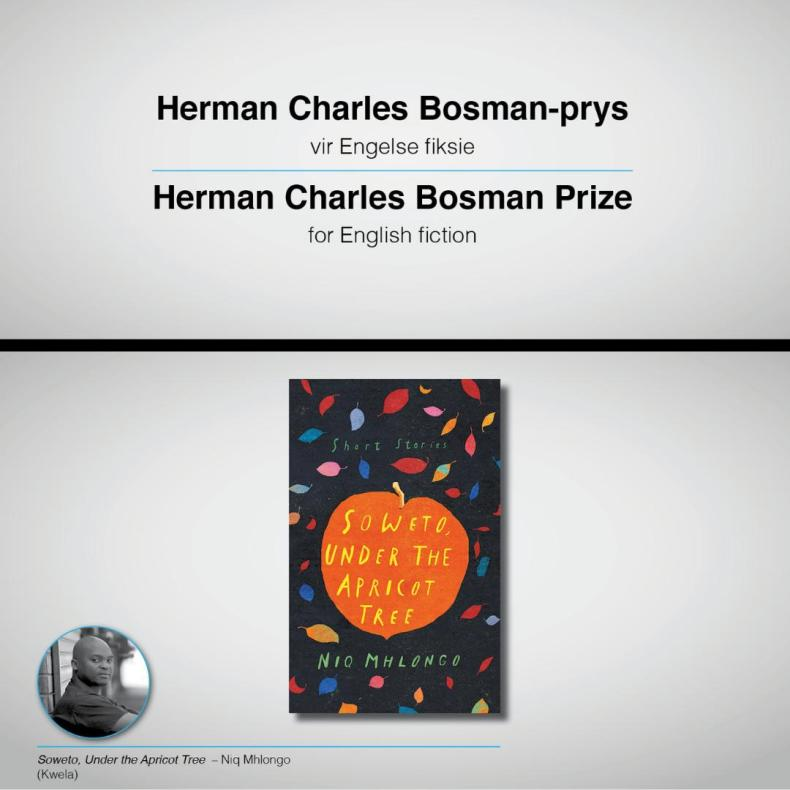 Niq Mhlongo wins Herman Charles Bosman Prize for English Fiction 2019