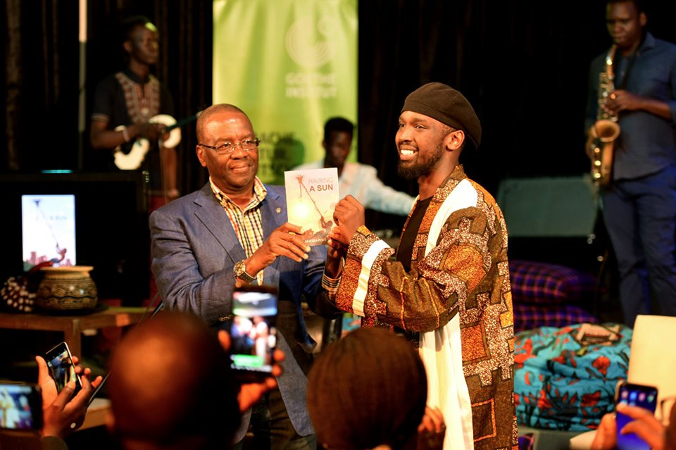 Dr WIlly Mutunga with Mufasa. Photo/PeterCacah Photography.