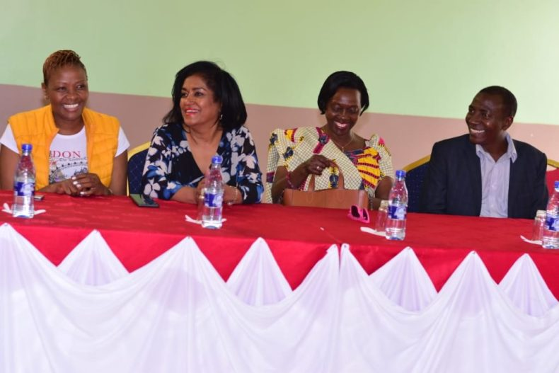 Waithera Chege, Esther Passaris, Martha Karua, and Andrew Maina.