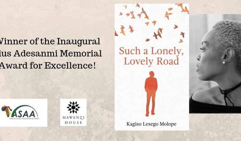 Kagiso Lesego Molope is Pius Adesanmi Memorial Award 2019 winner.