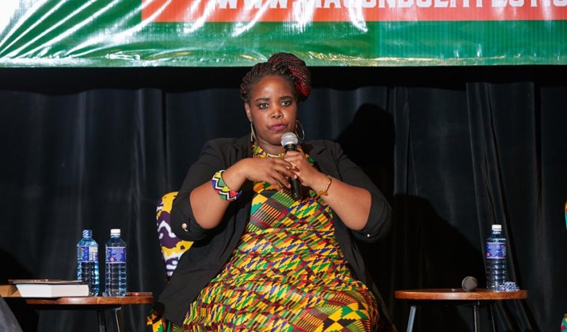 Novuyo Rosa Tshuma at Women in Histories panel