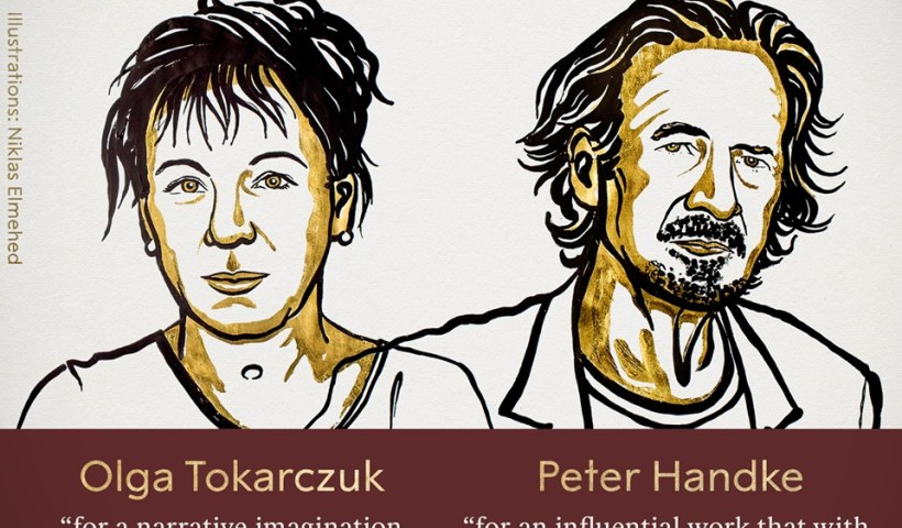 Olga Tokarczuk, Peter Handke win Nobel Prize for Literature for 2018, 2019.