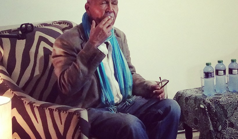 Nuruddin Farah at Cheche Bookshop