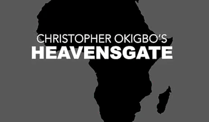 "The #ReadAfricanPoetryChallenge kicks off with Christopher Okigbo's poem ""Heavensgate."""