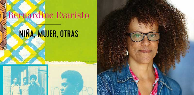 "Bernardine Evaristo's ""Girl, Woman, Other"" now available in Spanish."
