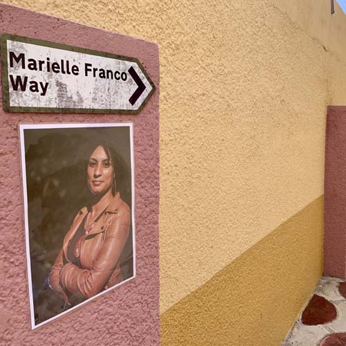 Marielle Franco Way at the Library Of Africa and The African Diaspora (LOATAD)
