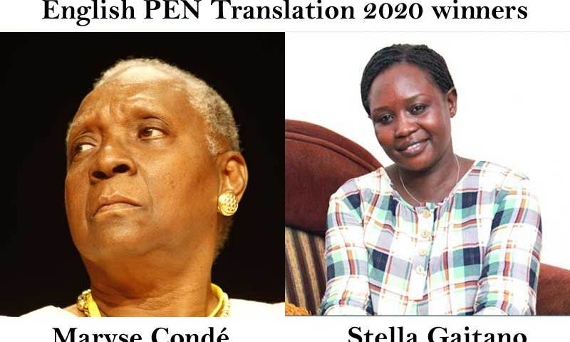 Maryse Condé, Stella Gaitano are English PEN Translation 2020 winners.