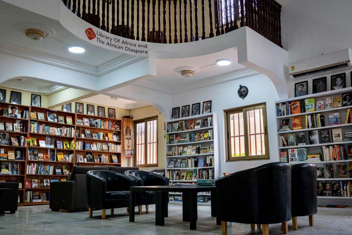 Library of Africa and The African Diaspora by Ernest Ankomah