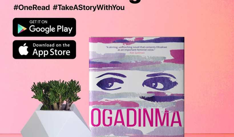 Ukamaka Olisakwe's 'Ogadinma' for OneRead in November in 2020