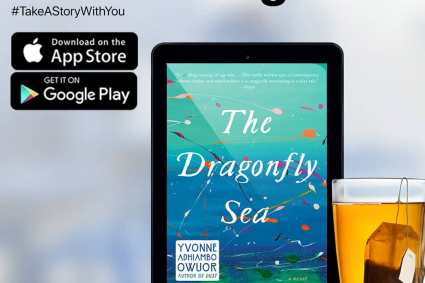 """Yvonne Adhiambo Owour's """"The Dragonfly Sea"""" for OneRead App in December 2020."""