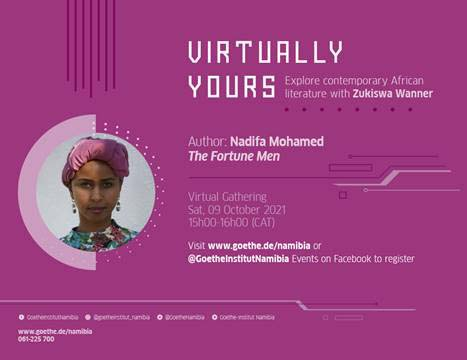 Virtually Yours with Nadifa Mohamed
