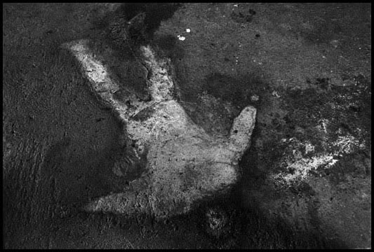 Kosovo 1999 - Impresión de un hombre matado por Serbios