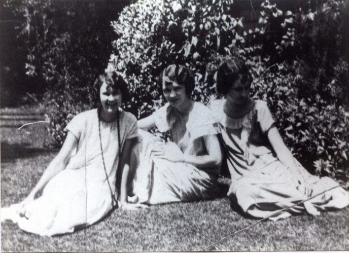 The Ensley Girls - 1928 Elizabeth, Isabel, Gladys