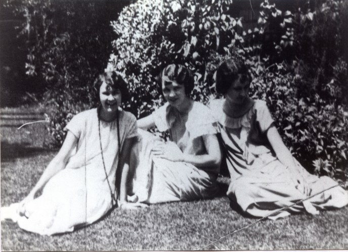 The Ensley Girls - 1928 Elizabeth, Isabel, Gladys