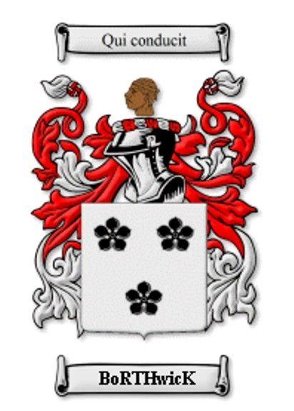 Borthwick Family Crest