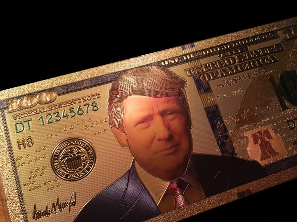 8 PC AUTHENTIC 24K GOLD SUPER HERO TRUMP BANK NOTE SERIES COLLECTOR'S SET w/ Certificate Of Authenticity – NEW ITEM!