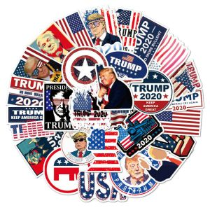 50PK of Trump Stickers - A HUGE Pack of High Quality, Heavy Duty, Vinyl Die Cut Stickers