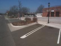 parking curb design