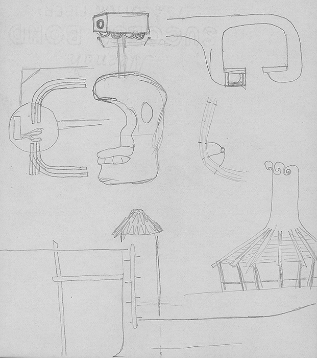 Photos and sketches for Six Flags