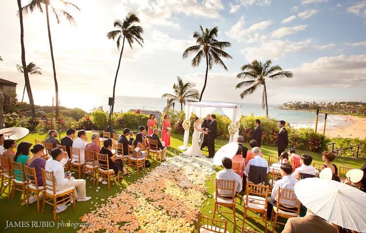 Rebecca  Peter Wedding  Four Seasons Maui at Wailea  Hawaii Wedding Photographer  James