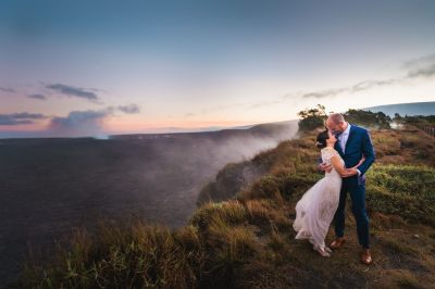 Volcano Treehouse Wedding, Melissa & Graham - Hawaii ...