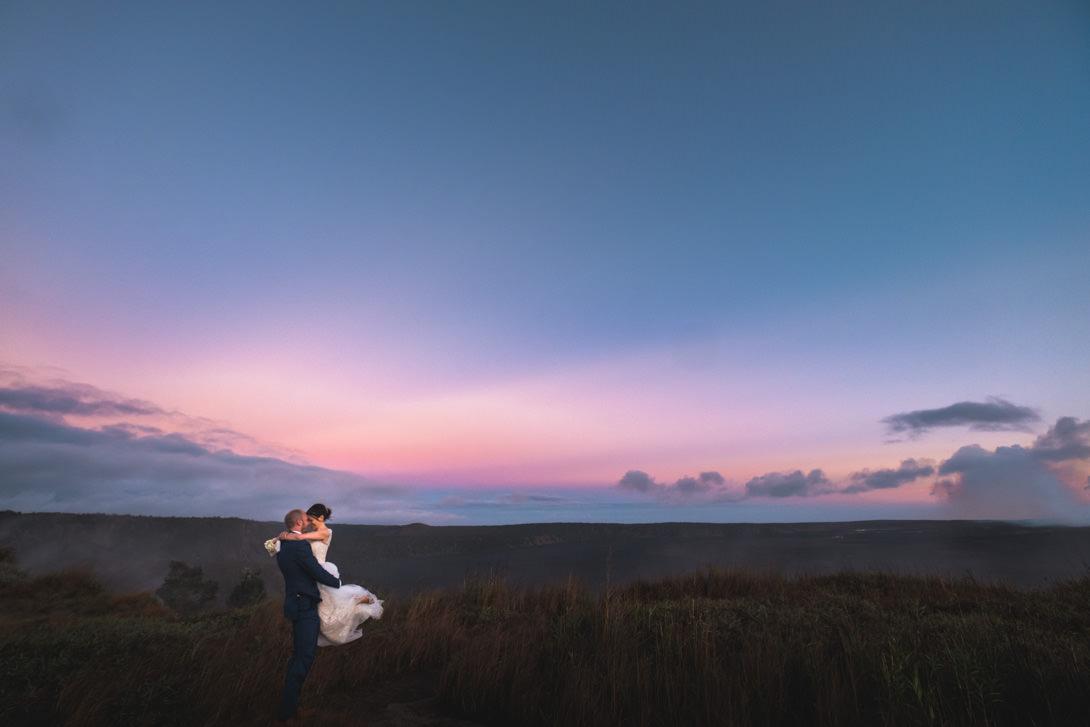Volcano Treehouse Wedding Melissa  Graham  Hawaii