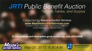 JRTI Benefit Auction