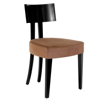 Elite Art Deco Inspired Modern Dining Chair with Tapered ...