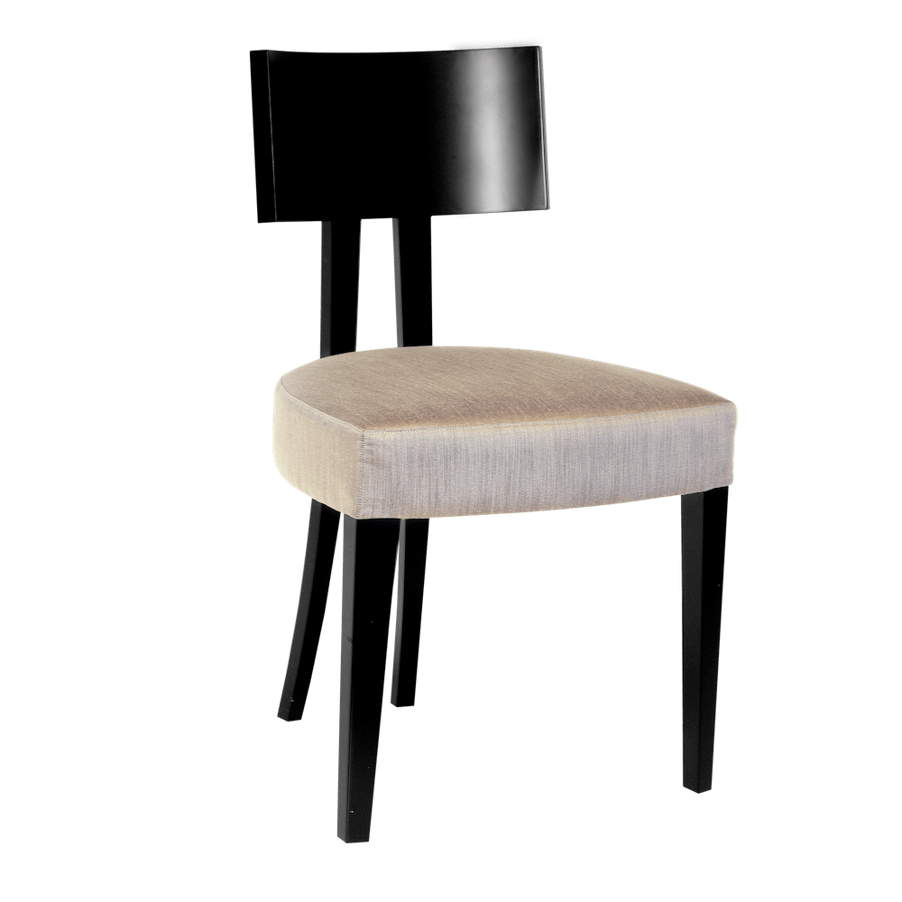 Elite Art Deco Inspired Modern Dining Chair with Tapered