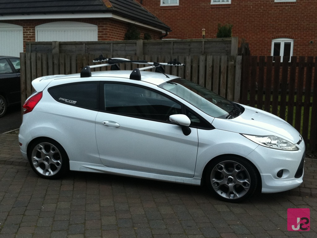 Fitting Fiesta Roof Bars