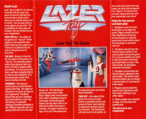 Lazer Tag Manual - Page 2