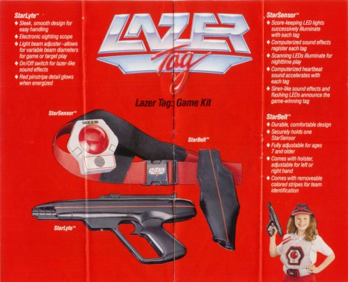 Lazer Tag Manual - Page 4