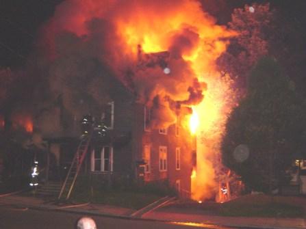 burning house 2