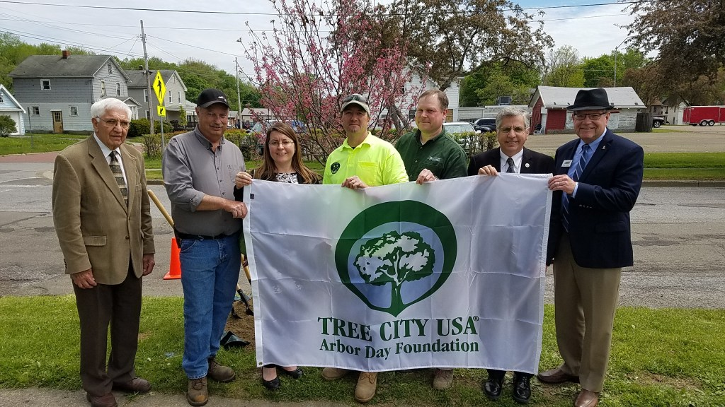 City of Jamestown 2017 Arbor Day Celebration