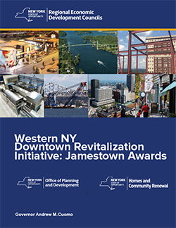 City of Jamestown NY Jamestown NY Downtown Revitalization Initiative Awards Booklet