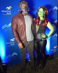 Star Lord and Gamora