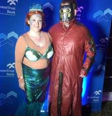 Mermaid and Ant Man