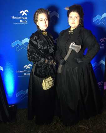 Lizzie and Emma Borden