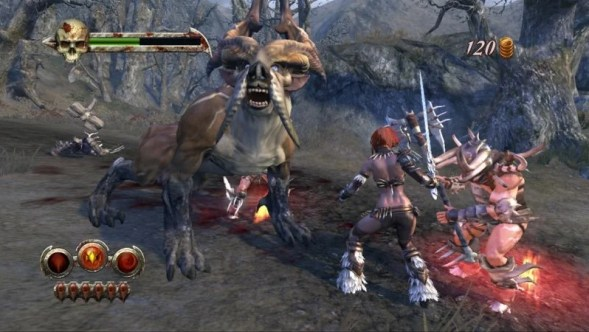 Image result for golden axe beast rider ps3