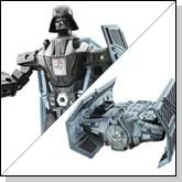Star Wars Darth Vadar Transformer