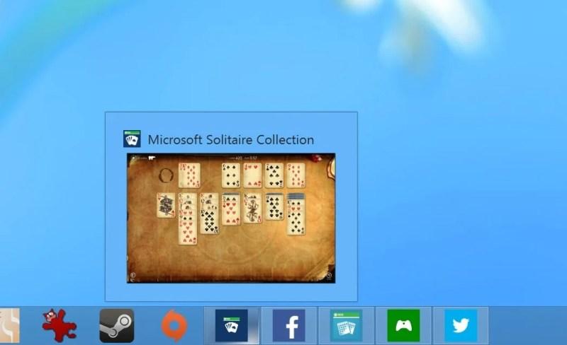 Apps on the Taskbar
