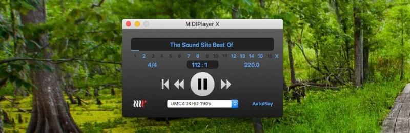MIDIPlayerX
