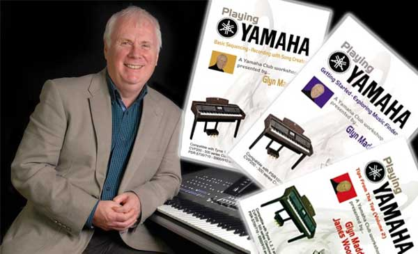 Yamaha keyboard lessons