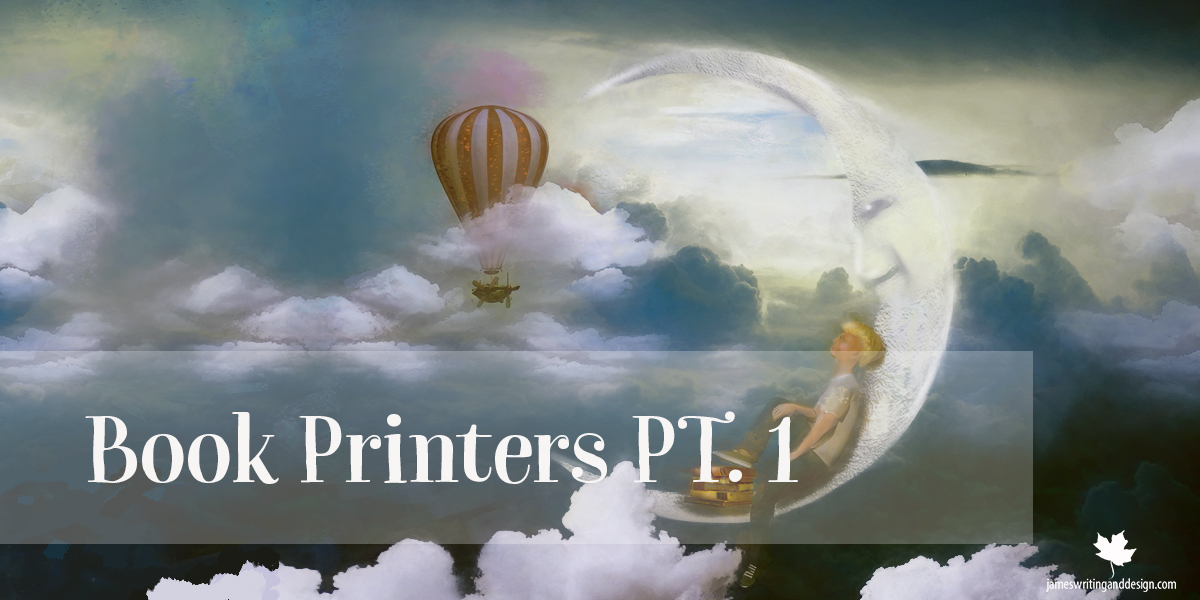 The World of Online Book Printers PT. 1